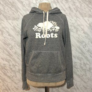 Roots Canada Hoodie Grey Size XS